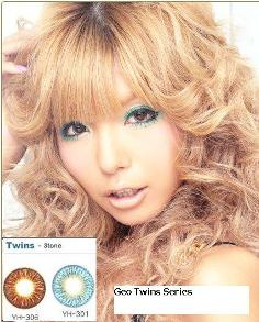 GEO Twin Circle Color lens Series